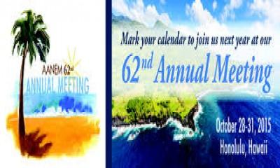 AANEM 62nd Annual Meeting